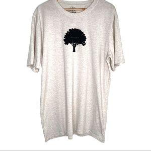 Prana Men's Oatmeal Color Tree Hugger T-Shirt XL